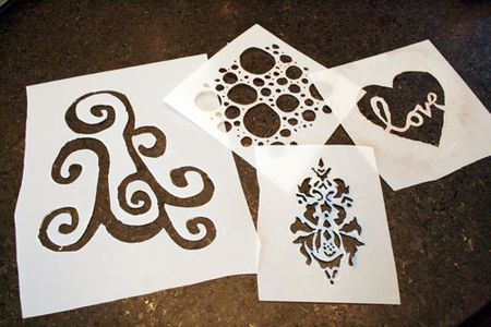 How to make your own stencils we say how for Stencil fai da te