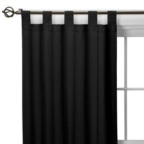 How to Make a Tab-Top Curtain