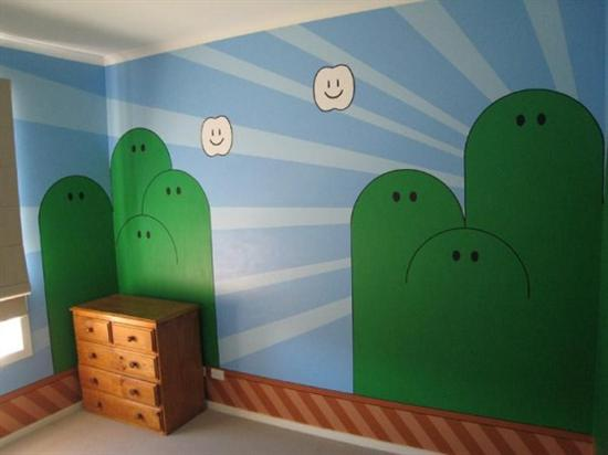 How to Scale Up and Paint a Mural the Simple Way